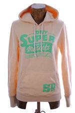 SUPERDRY pull capuche pèche S femme /ado 12-13ans,Neuf+étiquette