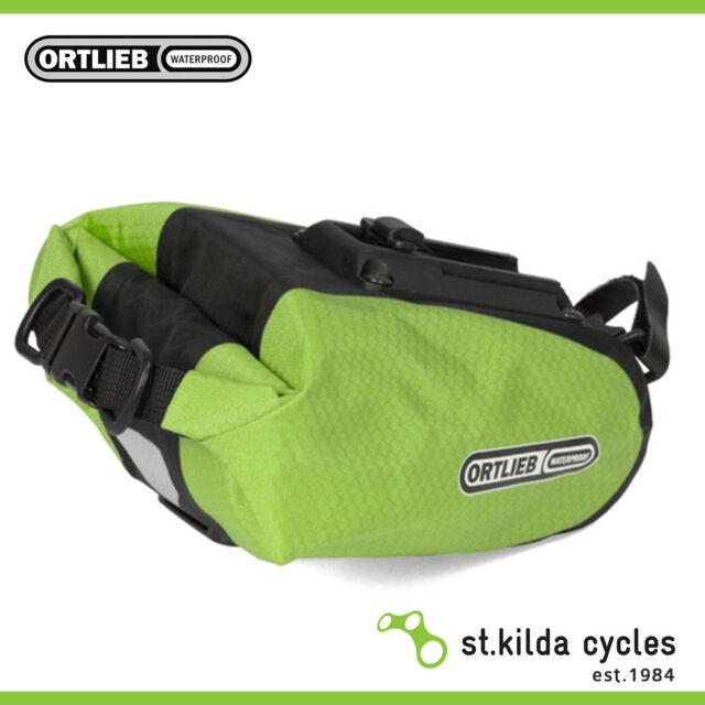 New Ortlieb Saddle Bag - Medium Lime-Black