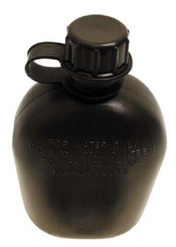 nuevo! Cantimplora plástico botella sin referencia verde oliva 1 litros