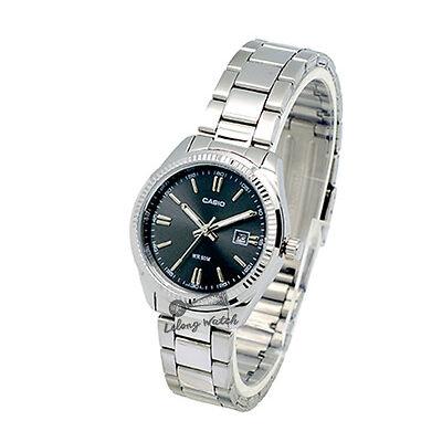 -Casio LTP1302D-1A1 Ladies' Metal Fashion Watch Brand New & 100% Authentic