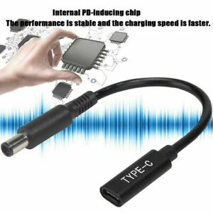 Type-C Connector PD Charger Cable Fit for Surface Dell ASUS Zenbook Vivobook