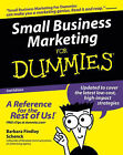 Small Business Marketing For Dummies by Barbara Findlay Schenck (Paperback, 2005)