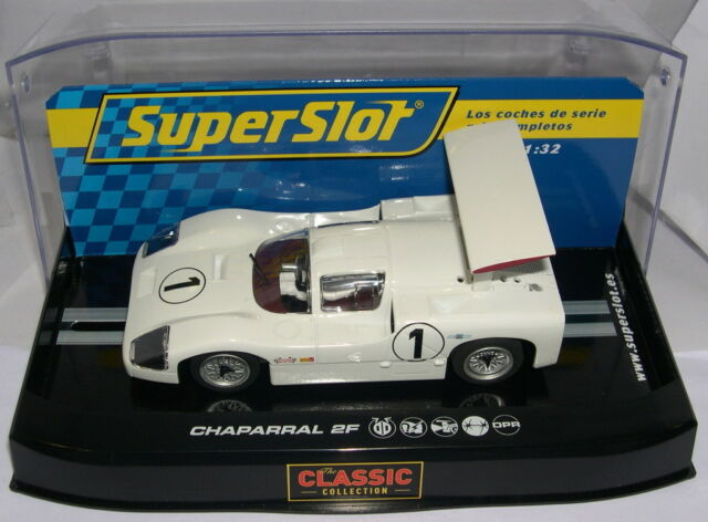 SUPERSLOT H2811 CHAPARRAL 2F  #1  SCALEXTRIC UK  MB