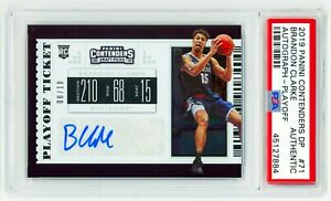 BRANDON-CLARKE-2019-Panini-Contenders-DP-71-PLAYOFF-TICKET-ROOKIE-AUTO-RC-Signed