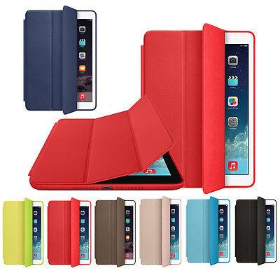 Mini 4 Case Leather Case Magnetic Cover Slim Wake Protector For iPad Mini 4 New