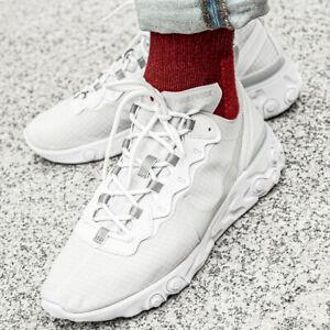 Détails sur Nike React Element 55 chaussures hommes sport loisir basket blanche BQ6167 101