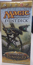 MAGIC THE GATHERING MIRRODIN BESIEGED INTO THE BREACH EVENT DECK FREE SHIPPING