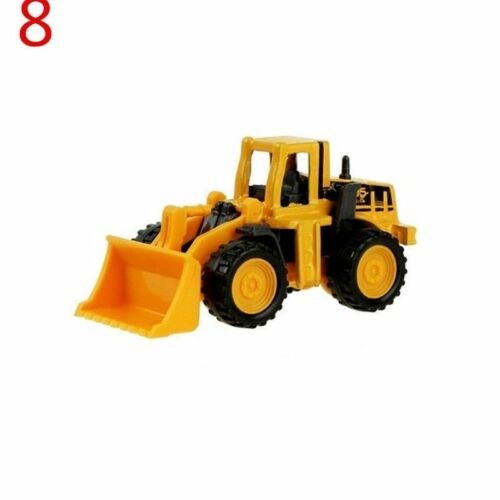 Hot Mini Alloy Engineering Car Tractor Toy Dump Truck Model Classic Toy Cars