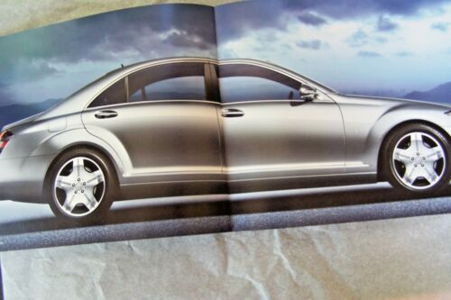 2008 mercedes s63 amg s600 s550 owners sales brochure w220 s class original new
