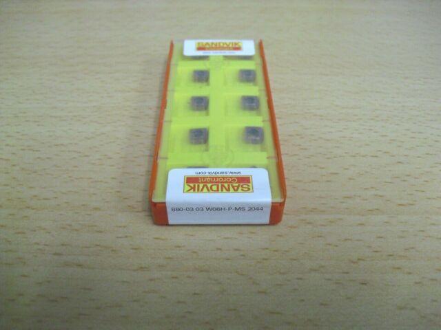 Authentic 880 09 06 W08H-P-GM 4044 SANDVIK INSERT