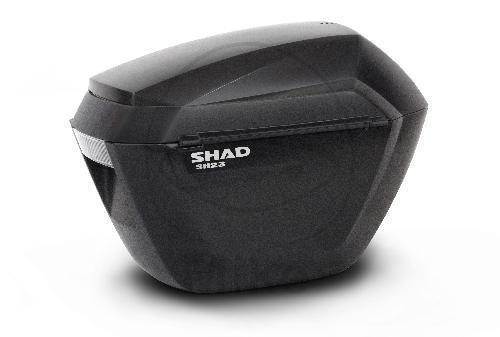 Shad Seitenkoffer schwarz 2x23 Liter Inhalt 2 Stück SH23 für 3P D0B23100