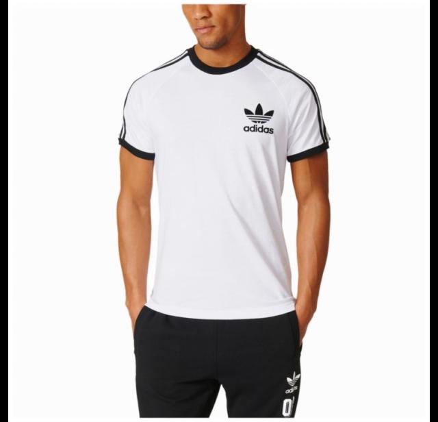 83dd7716f156c6 adidas Originals Mens California Trefoil Tee Shirt Medium Az8128 ...