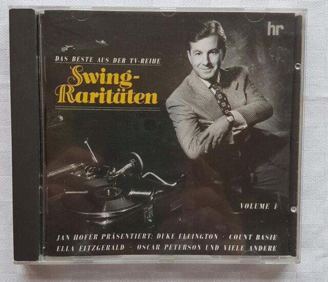 Swing Raritäten, Das Beste aus der TV Reihe, präsentiert von Jan Hofer, Vol.1 CD