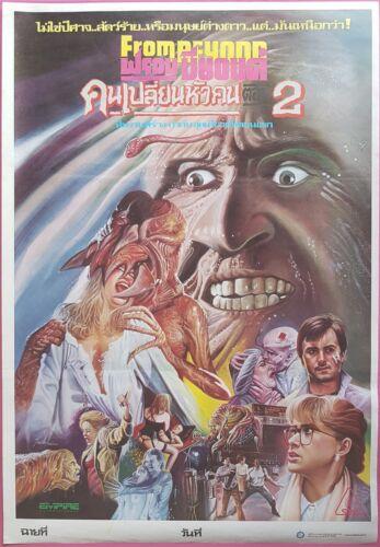 From Beyond HORROR Thai Movie Poster Original 1986