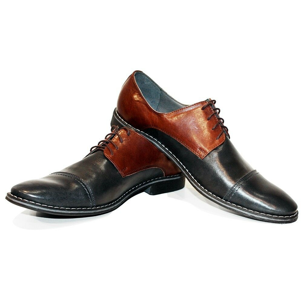 nessun minimo Modello Galanto Galanto Galanto - Handmade Coloreful Italian Leather Oxford Dress scarpe Marrone  contatore genuino
