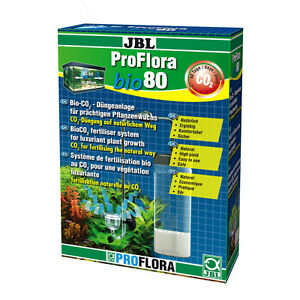 jbl proflora bio80 d ngung f r aquarium pflanzenwachstum bio co2 starter set ebay. Black Bedroom Furniture Sets. Home Design Ideas