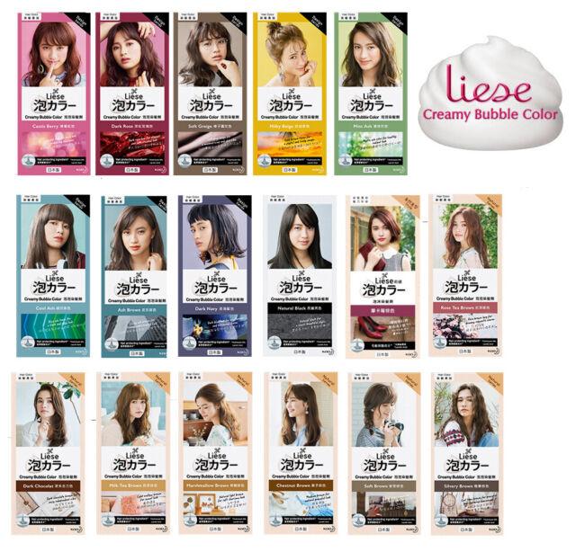 Kao Liese Soft Bubble Hair Color Dye