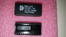 1 x DS1647-120 DALLAS Real Time Clock IC Clock//Calendar 512KB Parallel 32-DIP