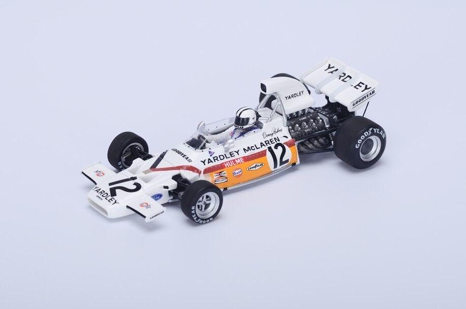 Spark S4292 McLaren M19A Winner South African GP 1972 - Denny Hulme 1 43 Scale
