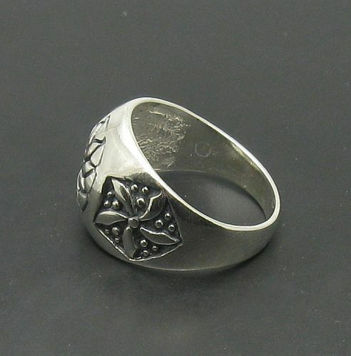 Sterling Silver Ring Band Solide 925 Neuf Taille 7-12