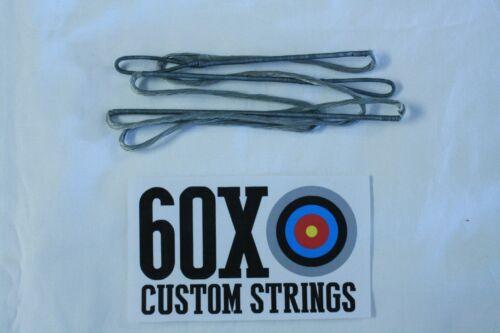 "60/"" 64 AMO 16 Strand Choice of Color Dacron B50 Recurve Bow 60X Custom Strings"