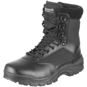 df5d5ef6a79 Details about Tactical Side Zip Security Police Combat Boots Army Mens  Shoes Black 5-13 UK