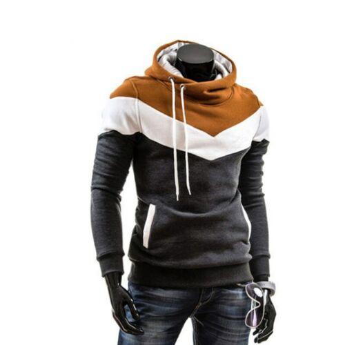 Winter Man Hip Hop Jacket Sweatshirt Slim Fit Hooded New Style
