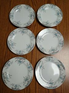 Imperial China W Dalton Seville 6 Bread Salad Dessert Plate Vintage Century GA1