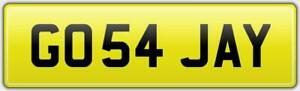 GO54-JAY-PRIVATE-JASON-CAR-REG-NUMBER-PLATE-FEES-PAID-GO-GO-JASON-JAMES-JAMIE-JJ