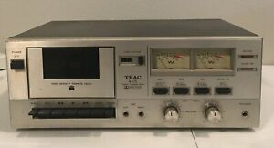 Vintage-TEAC-A-105-Stereo-Cassette-Deck-For-Parts-or-Repair