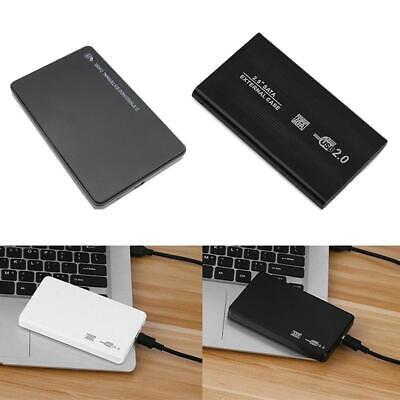Transparent 2.5 inch USB 3.0 SATA External HDD SSD Hard Drive Enclosure Case LJ