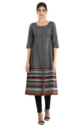 Aurelia Women/'s Yarn-dyed Dress Grey