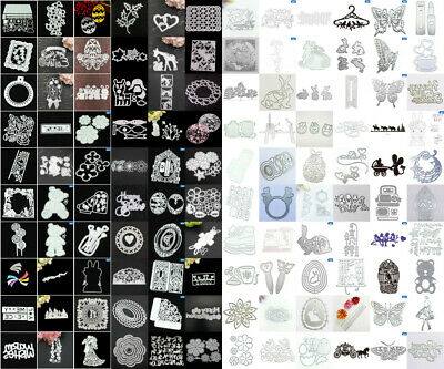 Multi Cutting Dies Metal Stencil DIY Scrapbooking Embossing Paper Photo Crafts*
