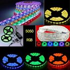 1-20M RGB 5050 Waterproof LED Light Strip Flexible Car Lamp IR Remote 12V Power