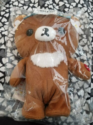 Rilakkuma Korilakkuma Meet Chairoikoguma Rare Walking Plush Japan