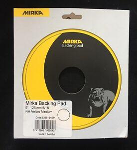MIRKA-8295191511-Schleifteller-125mm-5-16-034-Klett-Medium-f-CEROS-und-ROP2-512NV