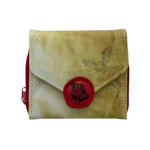 OFFICIAL HARRY POTTER HOGWARTS ACCEPTANCE LETTER PURSE WALLET NEW WITH TAGS PAL