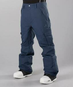 Rip-Curl-FOCKER-SNOW-PANT-Mens-Snowboard-Ski-Pant-New-SCPBC4-Dress-Blue