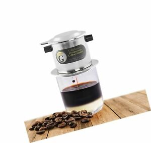 Vietnamese Coffee Maker Filter Set French Press Style Coffee Filters Pour Ebay