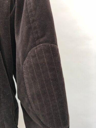 Zara Ov8np45 Taille Eu 40 Velours Veste Brun 50 Hommes Usa Pour Blazer PXZiOkTu