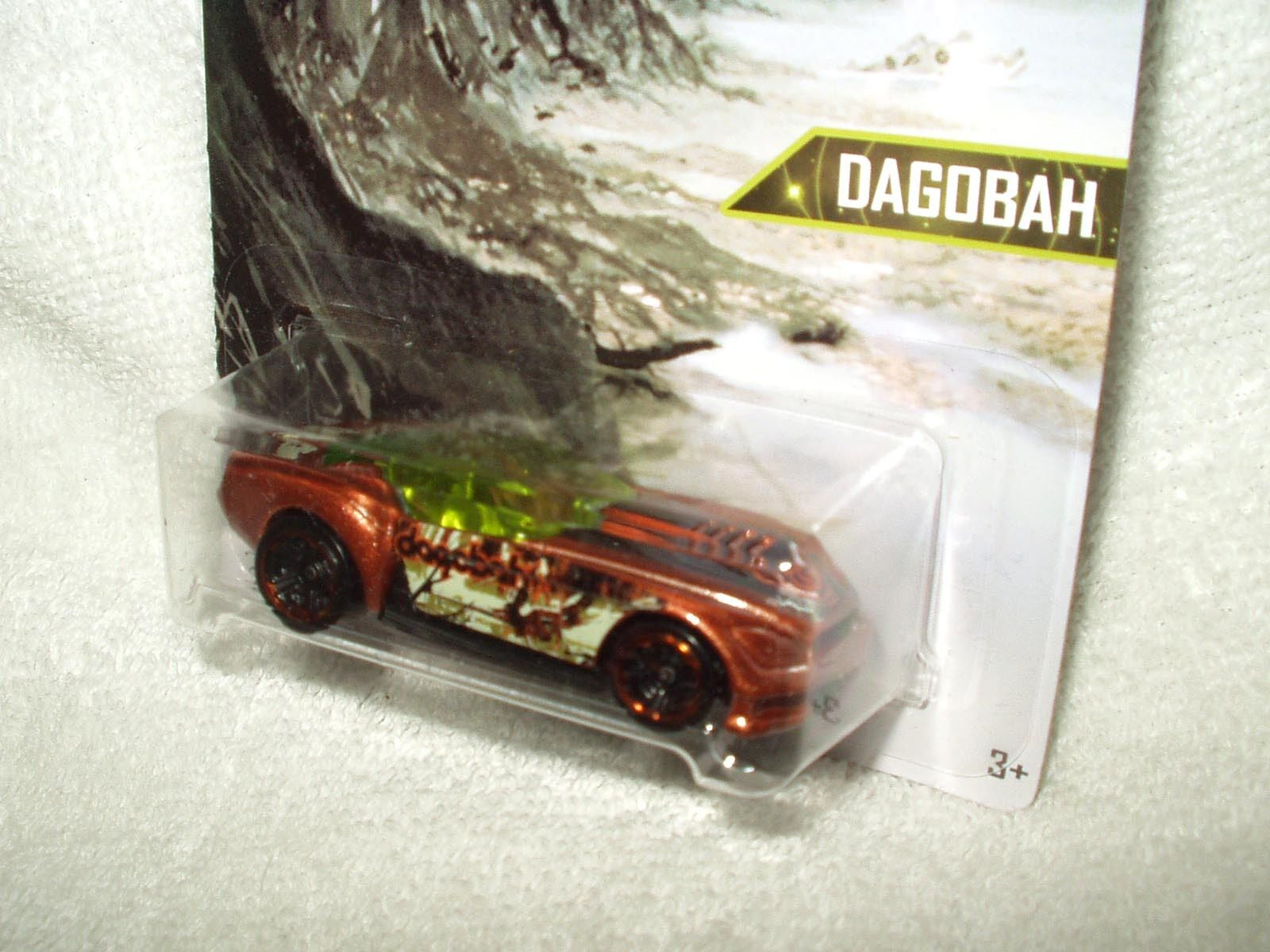 Action Figure Star Wars Hot Wheels Dagobah Vehicle Car Dagobah Wheels Pony-Up 5 of 8 34c6c7