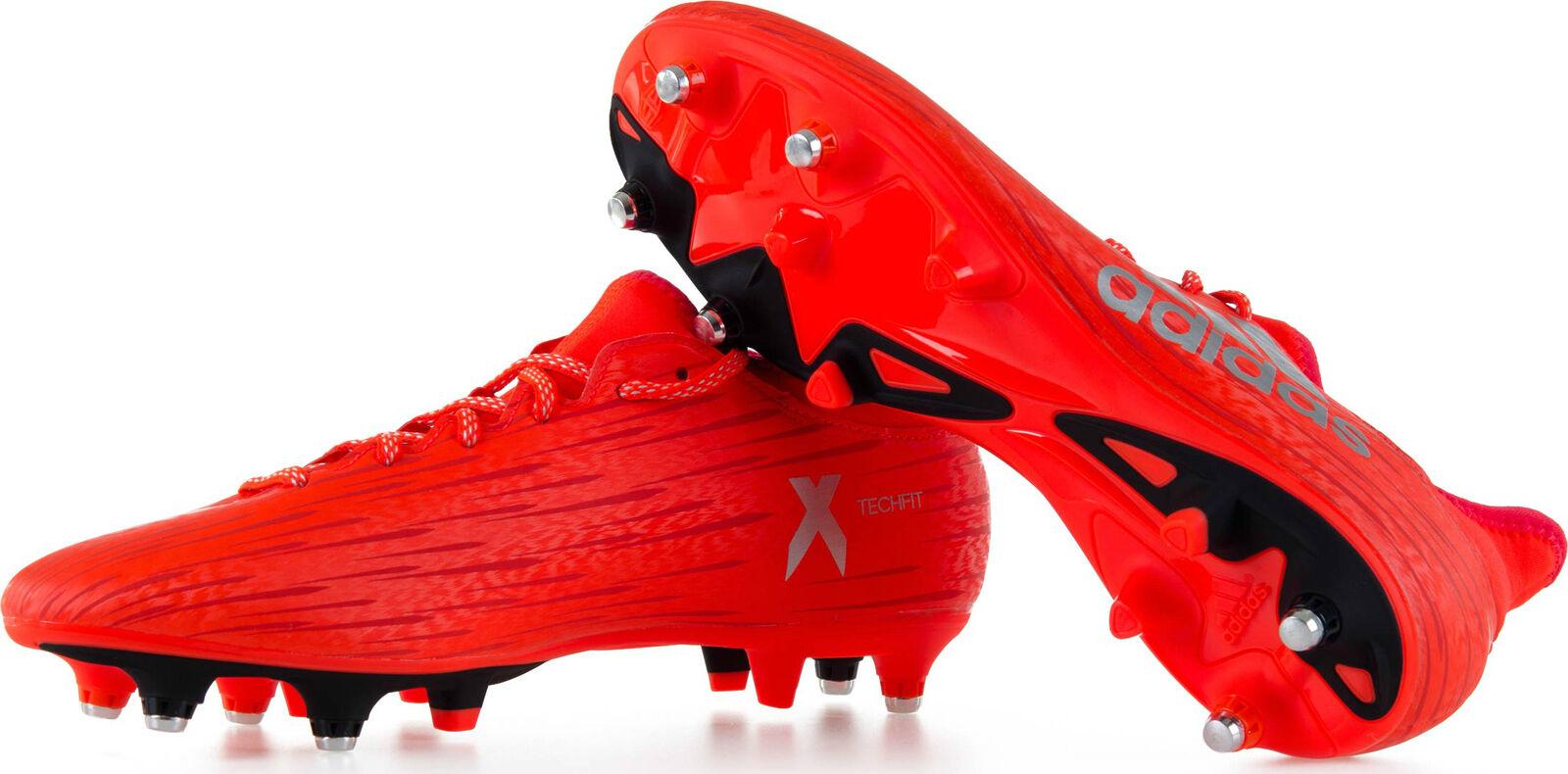 FW17 Adidas X16.3 Sg Zapatos Bota Fútbol Soccer Techfit Collar zapatos S79570