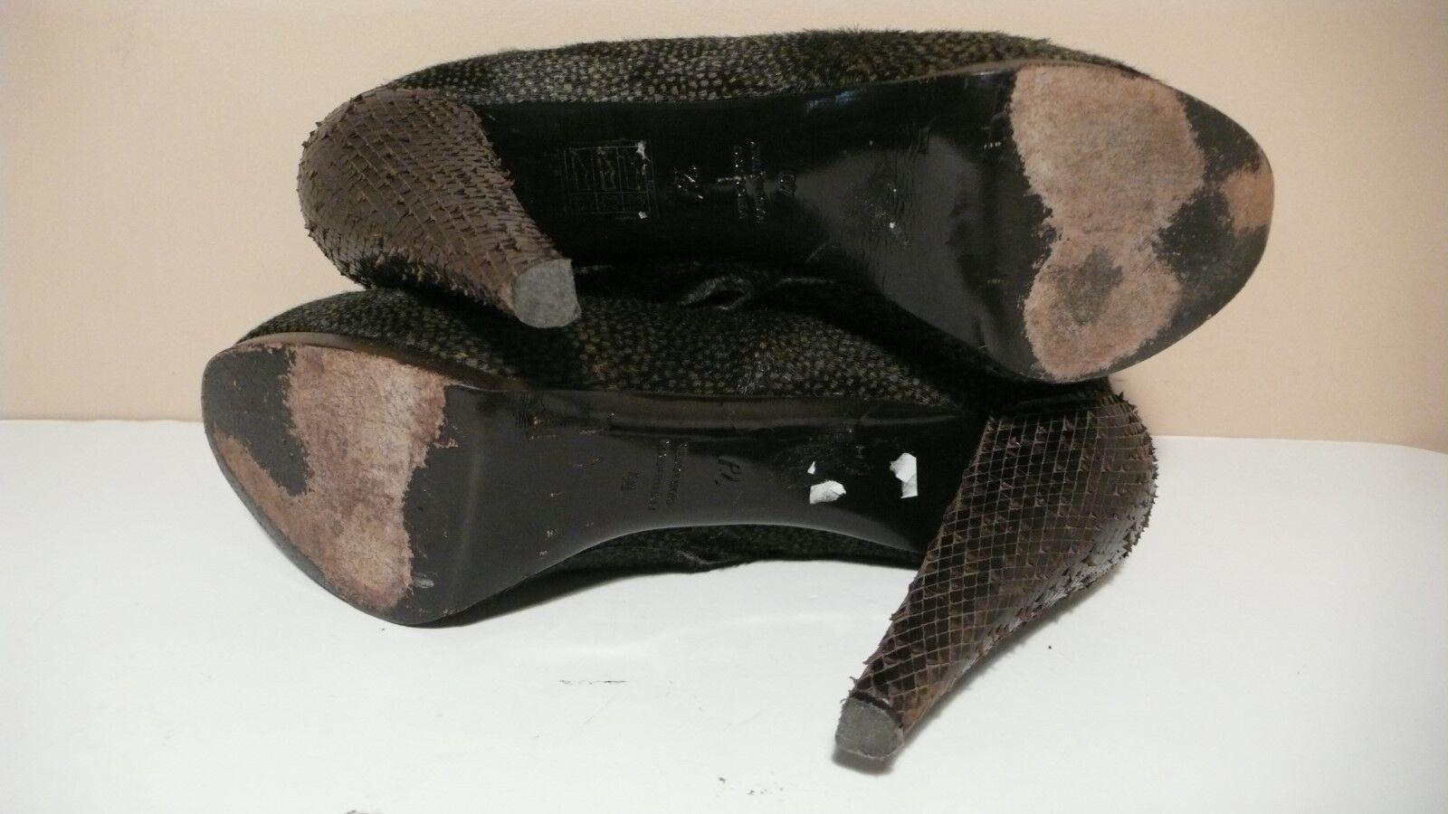3.1 PHILLIP LIM LIM LIM Women's Ponny Hair Hidden Platform Heels Pumps Sz 40 c612df