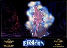 Das letzte Einhorn ORIGINAL Aushangfoto Jules Bass ZEICHENTRICK-KLASSIKER