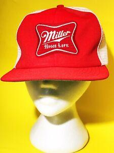 Miller High Life Mens New Raglan Snapback Hat