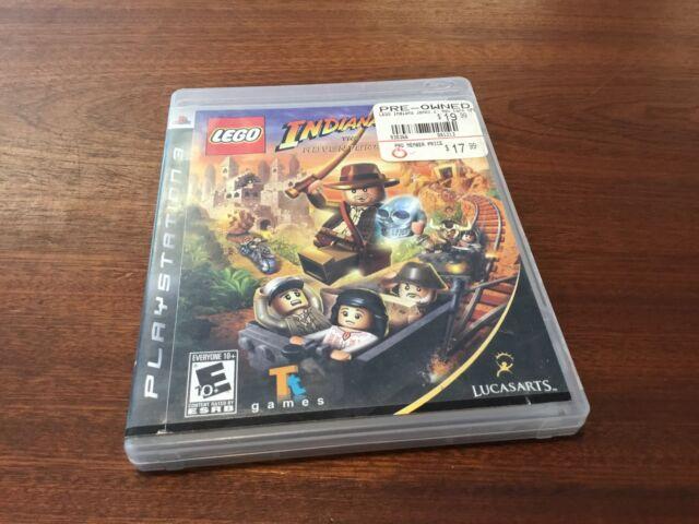 LEGO INDIANA JONES 2 GAME PlayStation 3