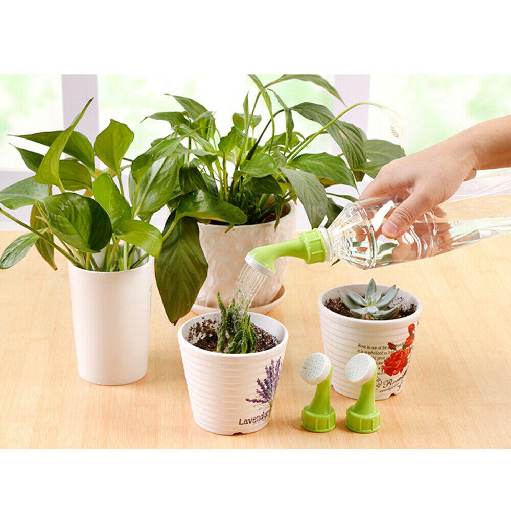 Pot Watering Bottle Water Cans Small Sprinkler Nozzle Head Plastic Portable Home