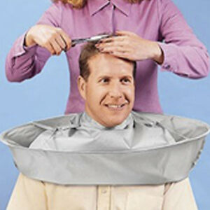 Hair-Cutting-Salon-Gown-Apron-Barber-Cloak-Umbrella-Hairdressing-Cape-Cloth-NEW