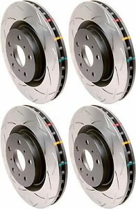 FOR-2008-2017-SUBARU-STI-DBA-FRONT-AND-REAR-SLOTTED-BRAKE-ROTORS-T3-4000-PACKAGE