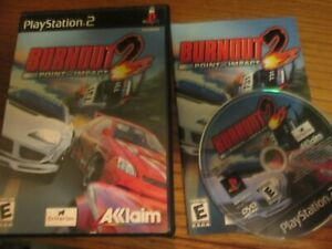 Details about PS2 Burnout 2: Point of Impact (Sony PlayStation 2, 2002)  Complete Free Shipping